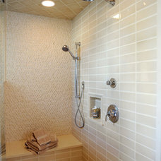 Farmhouse Bathroom by Renovations Unlimited