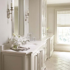 contemporary bathroom by Linda McDougald Design | Postcard from Paris Home