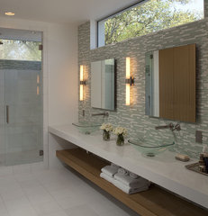 contemporary bathroom by Dick Clark Architecture