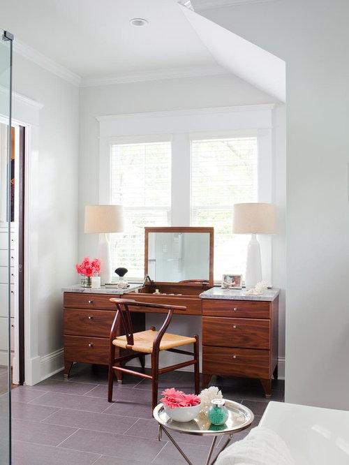 Makeup Table Bathroom Vanity | Houzz