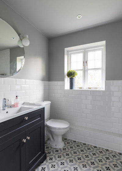Contemporary Bathroom by Clare Elise Interiors