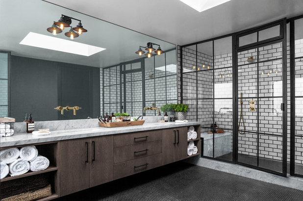 Industrial Bathroom by Andrew Heiser