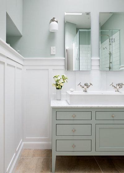 Midcentury Bathroom by DL Kitchens