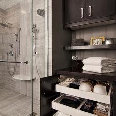 Contemporary Bathroom by Rebecca Ryan Design