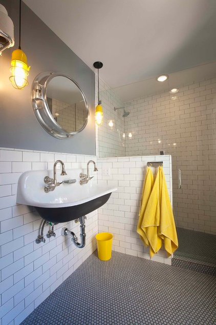 Eclectic Bathroom by Eric Aust Architect