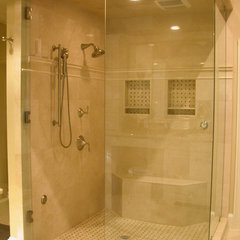 traditional bathroom by Kasper Custom Remodeling, LLC