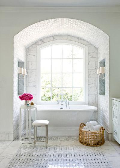 Traditional Bathroom by Mark Williams Design Associates