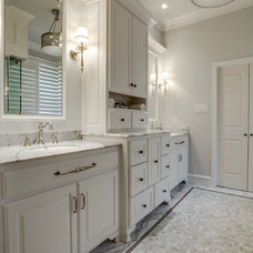 Traditional Bathroom by Doris Younger Designs
