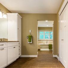Traditional Bathroom by Borchert Kitchen & Bath