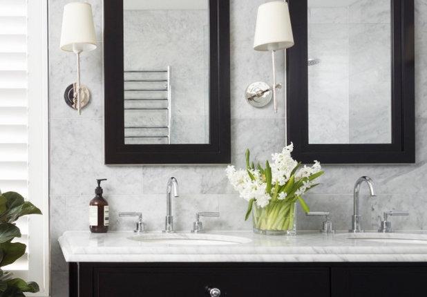 Transitional Bathroom by Danielle Trippett Interior Design