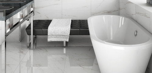 Carrara Porcelain Tile Houzz