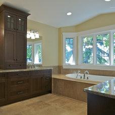 Modern Bathroom by Michael Burr Design