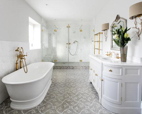 salle de bain victorienne de luxe photos et id es d co de salles de bain. Black Bedroom Furniture Sets. Home Design Ideas