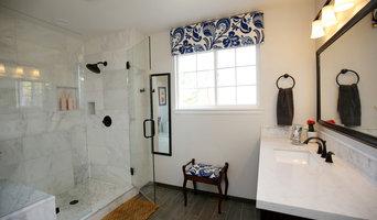 Classic Contemporary Master bathroom