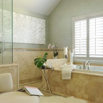 Classic Contemporary Spa Master Bath