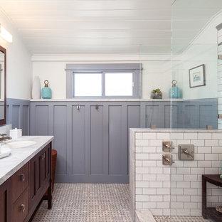 Classic Craftsman Master Bathroom