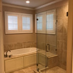 Ceramic White 4x4 With Black Cove Base Tile Listello And