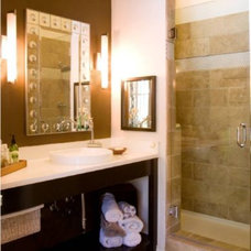 Eclectic Bathroom by De` Humphries, Allied Member ASID