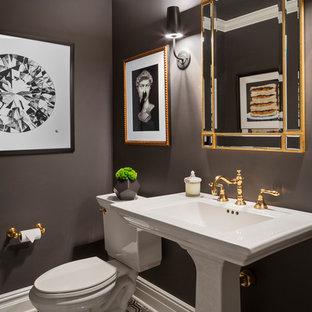 Eclectic bathroom photo in New York