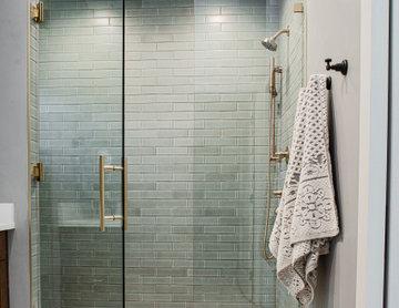 Classic Hexagon Floor Tile Bathroom feat. Foundations