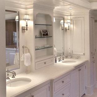 Klassisches Badezimmer in New York
