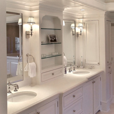 Inspiration for a timeless bathroom remodel in New York