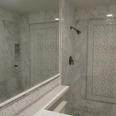 Traditional Bathroom by ARCHARIUM Tile and Stone
