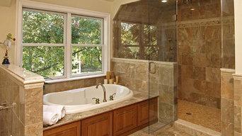 Classic Marble Bathroom