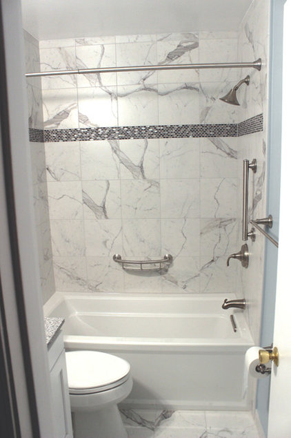 Traditional Bathroom by Best Tile