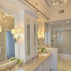 traditional bathroom by Alexandra Luhrs Interior Design