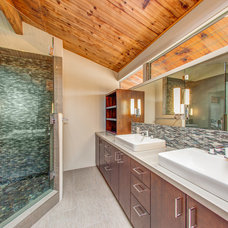 Contemporary Bathroom by Lilium Designs