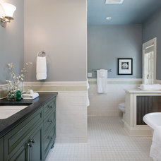 Traditional Bathroom by Fradkin Fine Construction, Inc.