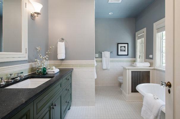 Traditional Bathroom by Fradkin Fine Construction, Inc.