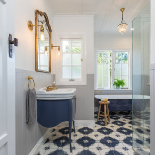 75 Beautiful Victorian Walk In Shower Pictures Ideas Houzz
