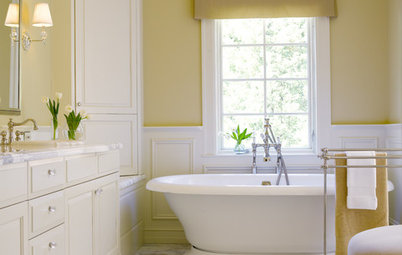 Bathed in Color: Favorite Yellows and Golds for the Bath
