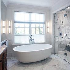 Traditional Bathroom by SKR Homes