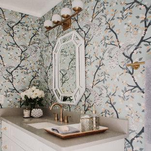 Classic + Retro + Glam Bathroom