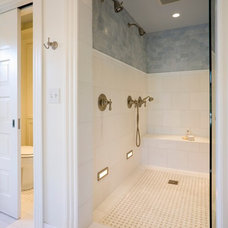 Traditional Bathroom by Menter Architects LLC
