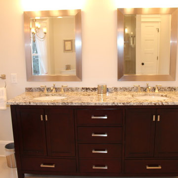 classic spin on a master bath