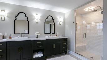 Classic Traditional Master Bathroom Design Ellicott City, MD
