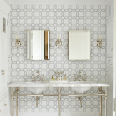 Transitional Bathroom by MICHAEL WHALEY INTERIORS, INC