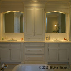 Traditional Bathroom by Bilotta Kitchens