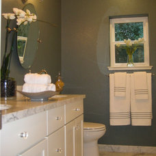 Traditional Bathroom by Susan Clouse Interior Solutions