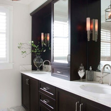 Traditional Bathroom by Pickell Architecture