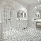 Up05 Traditional Bathroom Dallas By Ellen Grasso
