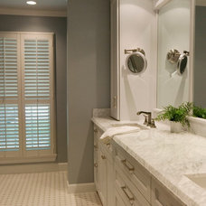 Transitional Bathroom by Gryphon Builders
