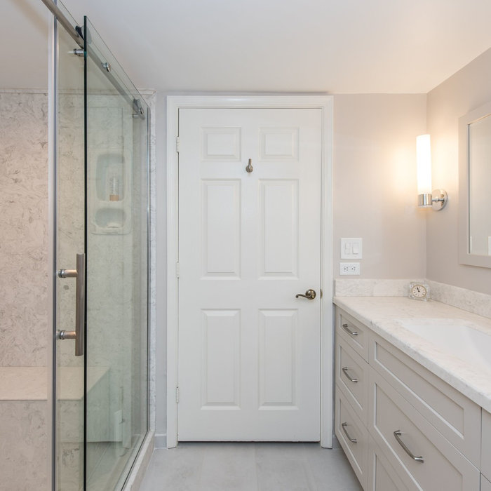 Classy and Low Maintenance Bathroom