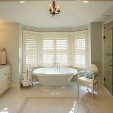 Traditional Bathroom by Michael Lauren Development LLC
