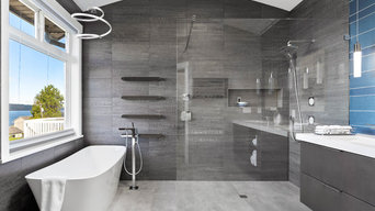 Clean and Contemporary Mukilteo Master Bath