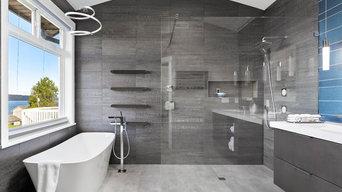 Clean and Contemporary Mukilteo Master Bath